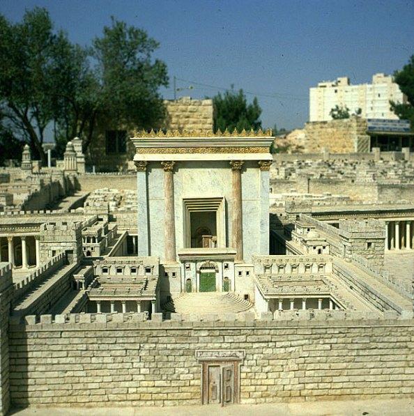 Jerusalem-Herodestempelmodell