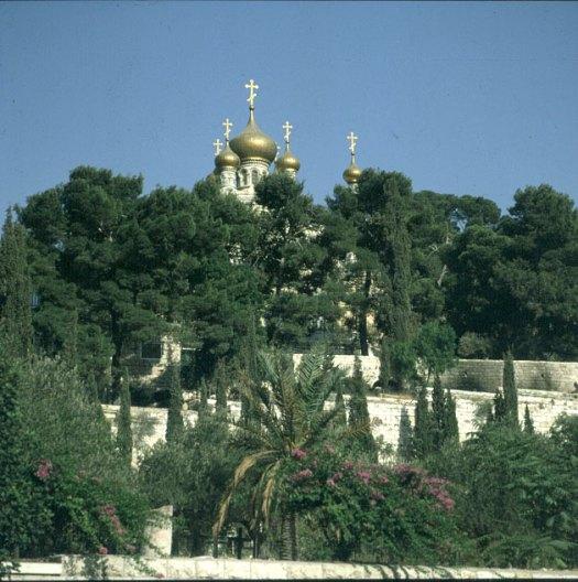Jerusalem-russische Kirche