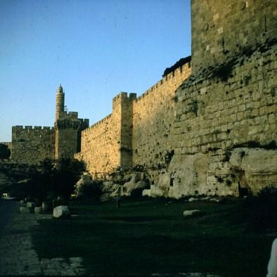 Jerusalem-Altstadtmauer
