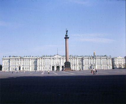 Leningrad-Winterpalast-noch ohne Touristen 1988