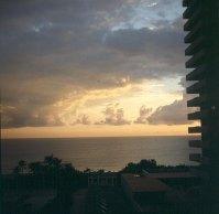 Miami-Hotelblick