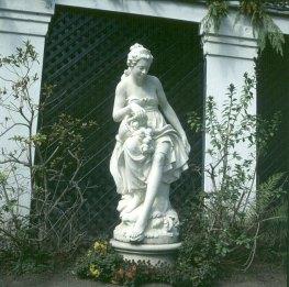 Mississippi-Gartenfigur