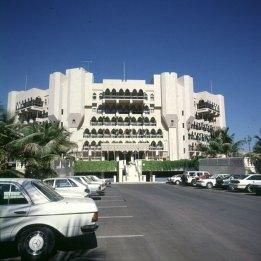 oman-muscat bustan-hotelvorfahrt 1989l
