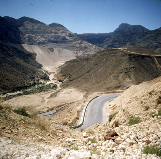 oman-salalah-grenzstrasse Jemen 1989