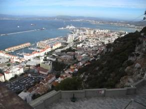 Traumschiff Gibraltar Hafenblick 2012