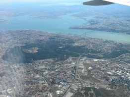 Abflug von Lissabon