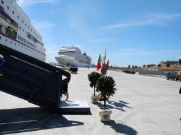 Traumschiff Begrüßung in Lissabon 2012