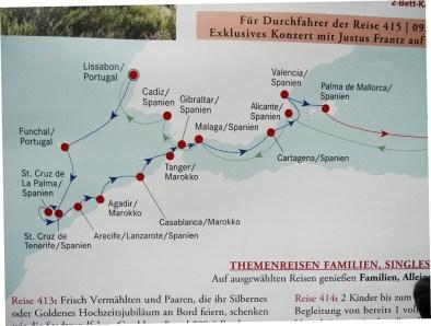 Traumschiff Reiseverlauf 2012