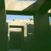 Gizeh-Chephrenpyramide Taltempel