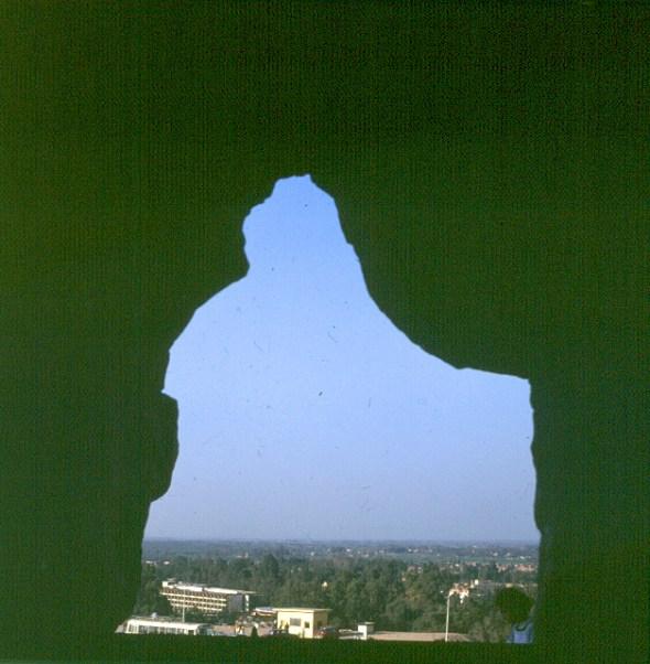 Gizeh-Cheopspyramide Ausblick