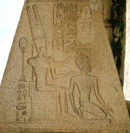 Karnak- Hatschsepsut Segnung