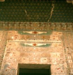 Totentempel-Hatschepsut Eingang-Sternenhimmel