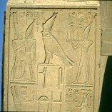 Karnak Horus mit Doppelkrone