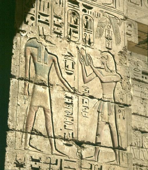Totentempel-Medinet Habu Ramses3