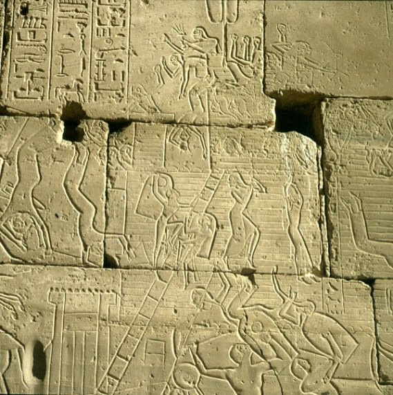 Totentempel-Ramesseum-Schlacht um Megiddo