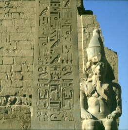 Luxortempel Obelisk-RamsesII
