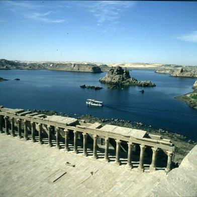 Assuan-Philaetempel umgesetzt