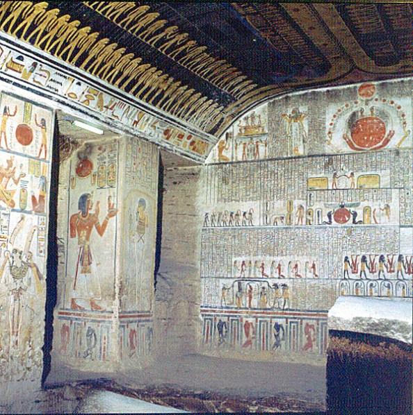 Tal der Könige RamsesVI Grabkammer