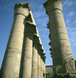 Luxortempel Säulengang 1./2.Hof