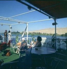 Nil- Schiffahrt Luxor-Assuan