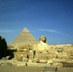 Gizeh-Shpinx-Chephrenpyramide