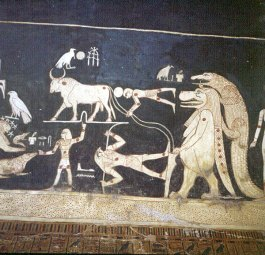 Tal der Könige Sethos I 1.astronomische Darstellung