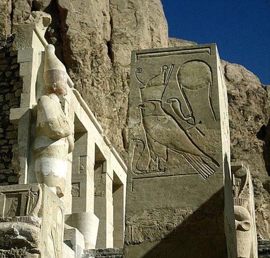 Totentempel-Hatschepsut-Symbolstele