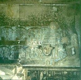 Dendera-Tempeldecke