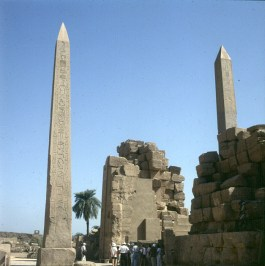 Karnak- Obelisken Hatschepsut und TutmosisIII