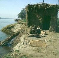 Nil bei Luxor Uferschaden