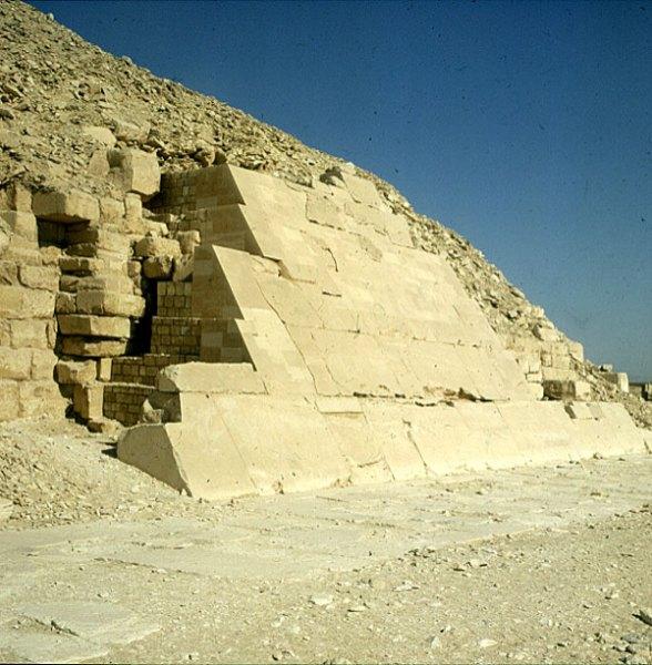 Gizeh-Unaspyramide-Originalabdeckung
