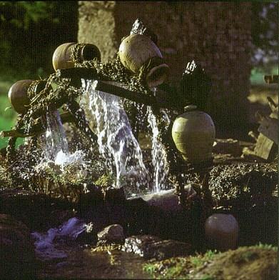 Nil-Dendera- letztes altes Wasserrad