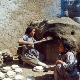 Ägypten Brotfladen Ofen