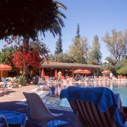 Marokko Sheraton Hotel Pool 1995