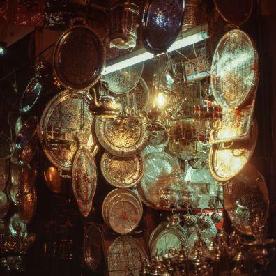 Marokko Kupferteller 1995