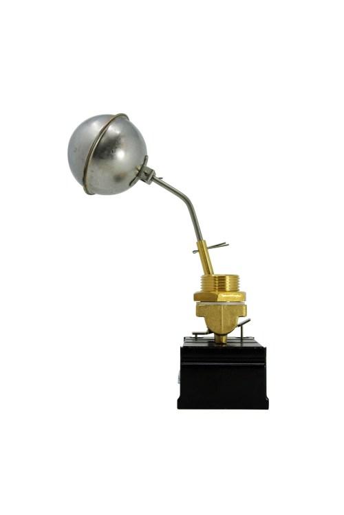 Regolatore di livello con microinterruttore e sfera inox per caldaie a vapore
