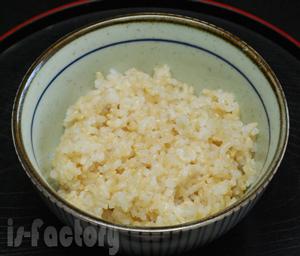 玄米 炊きたて