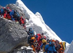 エベレスト 渋滞