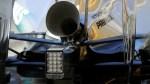 F1のメガホン型エキゾースト・ディズニーアニメな造形w・でも効果無し