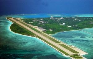 西沙諸島 中国軍滑走路