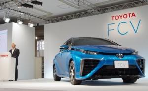 トヨタ燃料電池車発表