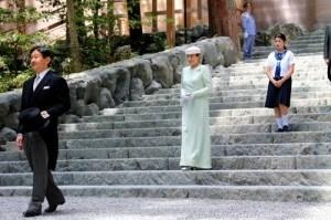 皇太子ご一家 伊勢神宮参拝