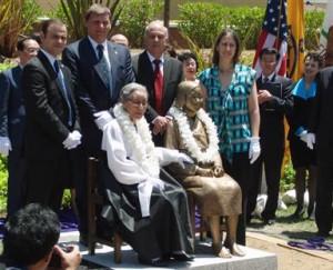 カリフォルニア州グレンデール市慰安婦像