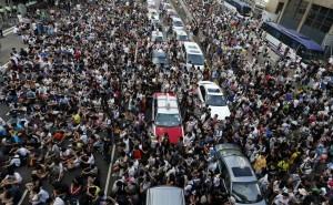2014香港デモ