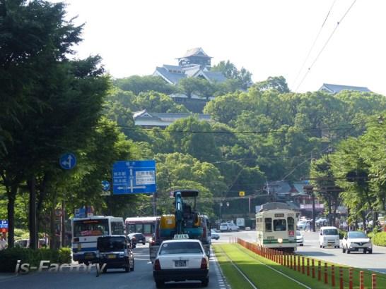 熊本地震・熊本城・本震後