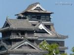 【熊本地震】休園中の熊本城はエリア外からどこまで見える?