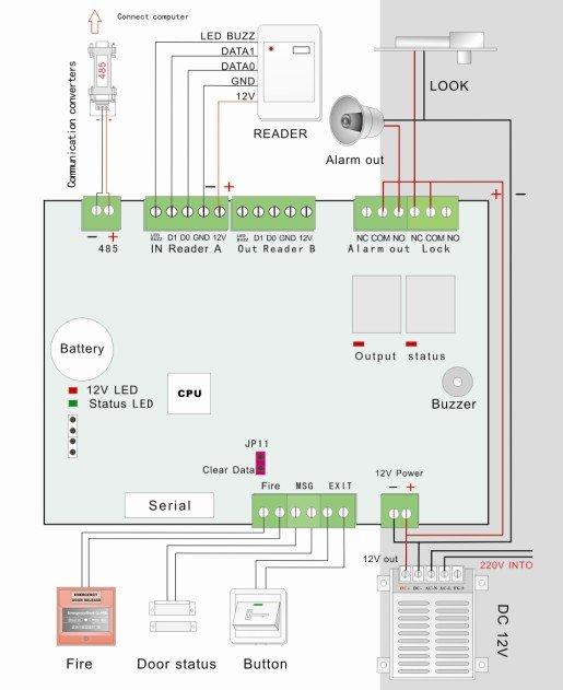 Door access control wiring diagram wiring diagram dc 12v power supply control switch door access system 3a door access control wiring diagram asfbconference2016 Gallery