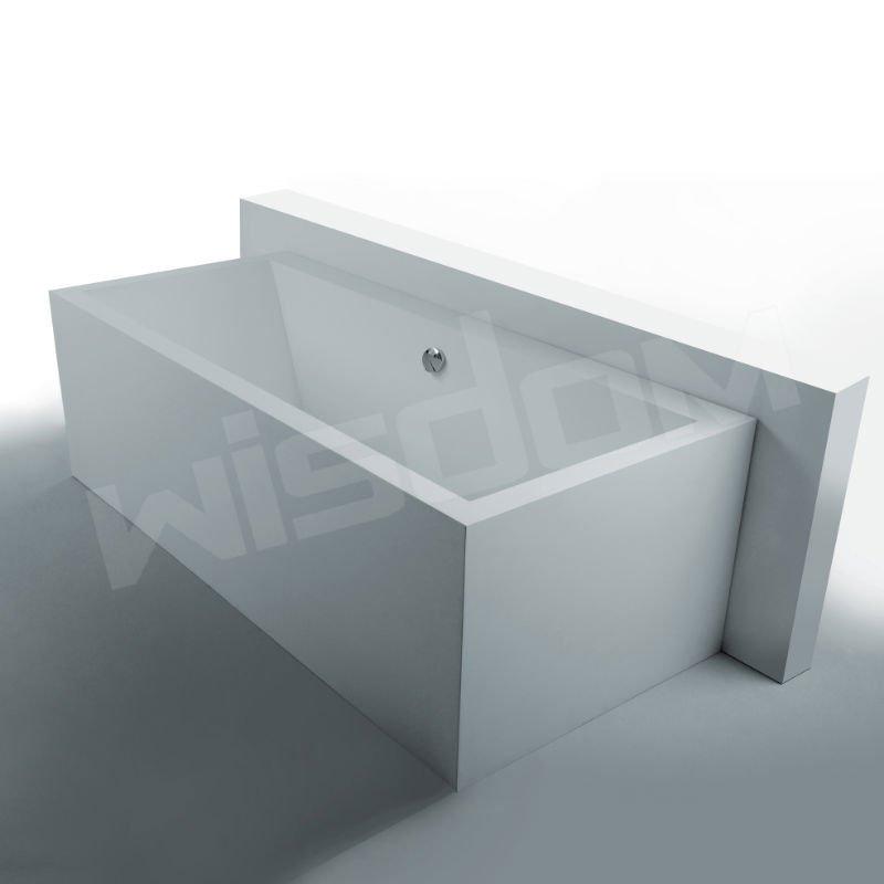 ordinaire baignoire en corian prix 4 surface solide corian baignoire en pierre fabricant wd6541