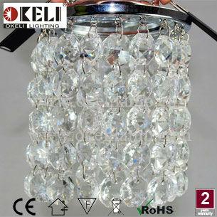 Modern Crystal Mini Chandelier Spotlight Chandeliers Ceiling