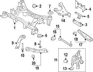 Oem 20250fg020;20250fg020 Suspension Rear Control Armrodlateral Link For Subaru Impreza